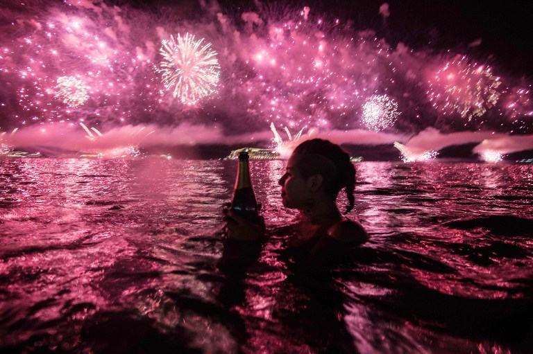 BRAZIL-RIO-NEW YEAR