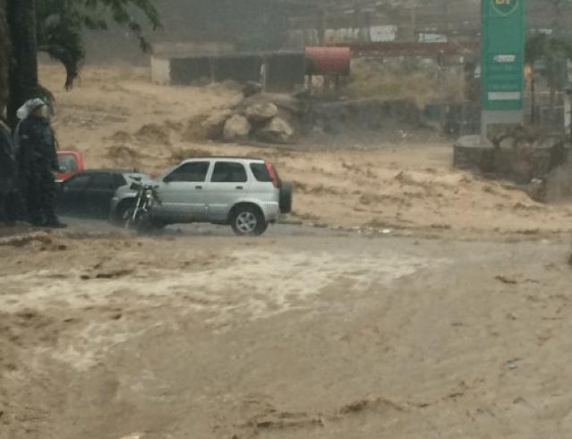 Caracas inundada