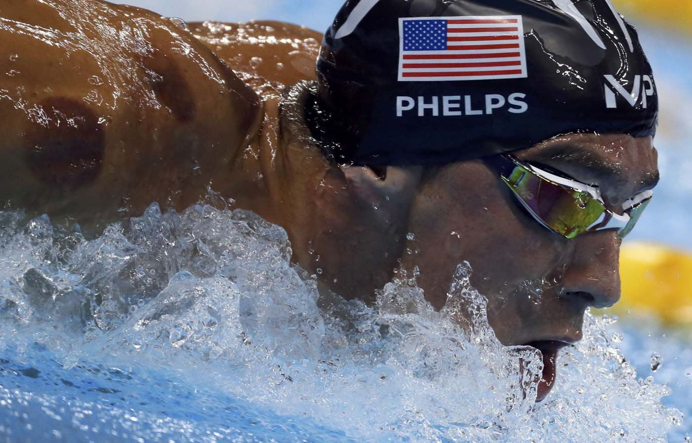 2016 Rio Olympics - Swimming - Final - Men's 200m Butterfly Semifinals - Olympic Aquatics Stadium - Rio de Janeiro, Brazil - 08/08/2016. Michael Phelps (USA) of USA competes. REUTERS/Stefan Wermuth FOR EDITORIAL USE ONLY. NOT FOR SALE FOR MARKETING OR ADVERTISING CAMPAIGNS.