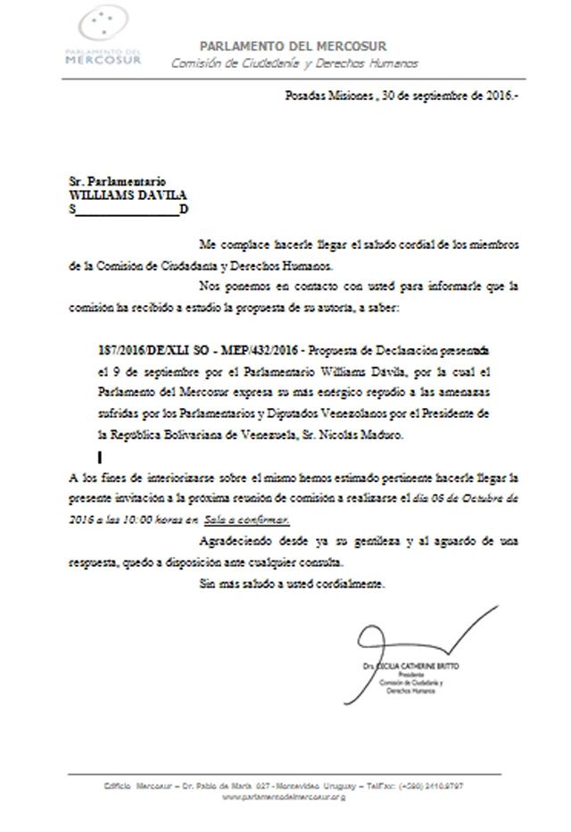 CartaMercosur