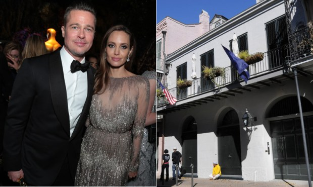 Brad Pitt Angelina Jolie casa Nueva Orleans 2