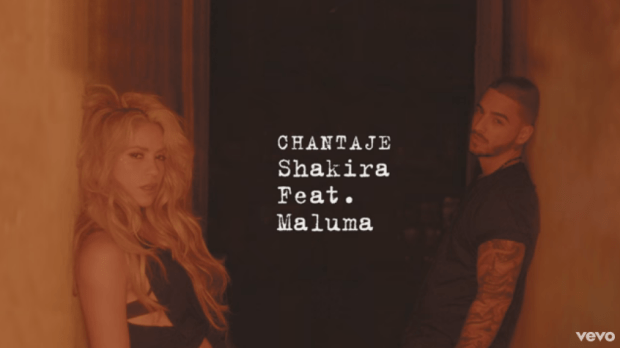 Foto: Shakira y Malula / youtube
