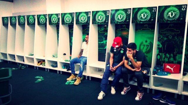 Los jugadores de  Chapecoense que no viajaron a Colombia