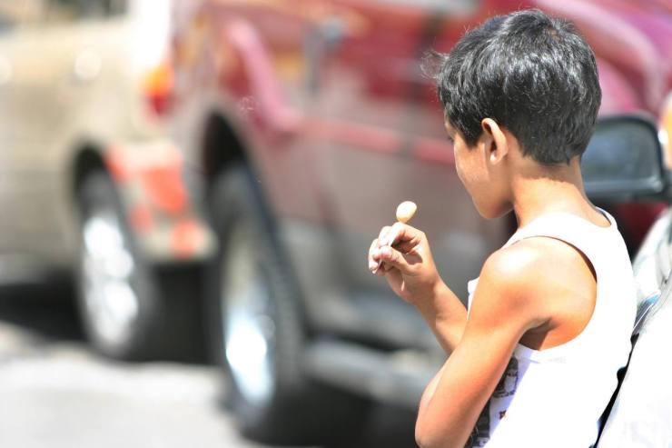 Archivo Los niños en situación de calle están expuestos a situaciones de violencia