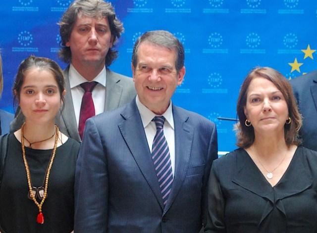 En su gira por Europa, Mitzy Capriles de Ledezma sostuvo varios encuentros con diferentes personalidades
