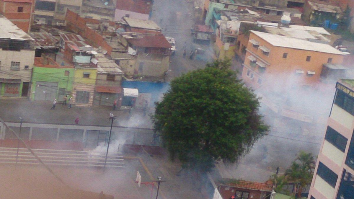 Represión La Vega 2 junio