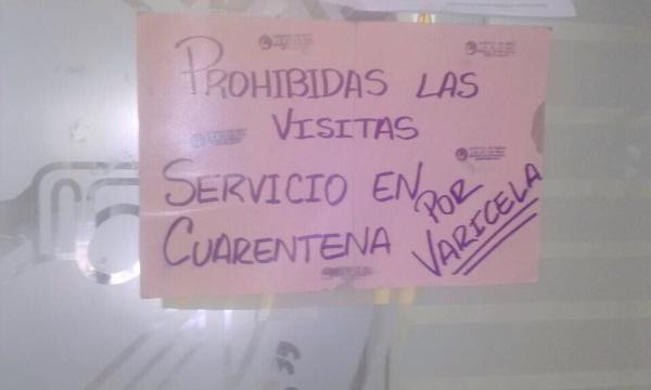 Foto: Prohíben en el Hospital J.M de los Ríos por brote de varicela  / Cortesía