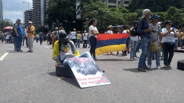 Oposición se moviliza en Caracas desde 11 puntos. Foto: Régulo Gómez / LaPatilla.com