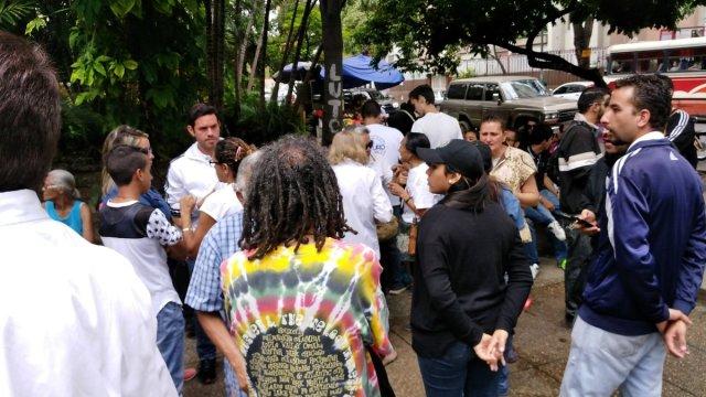 Foto:Así reprime la GNB la marcha desde Montalbán / Elías Sayegh