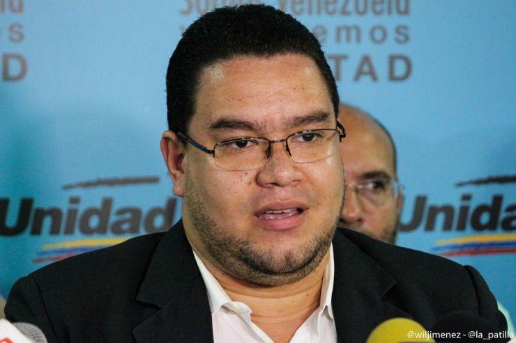 Francisco Castro, integrante de la MUD // Foto Wil Jiménez - LaPatilla.com
