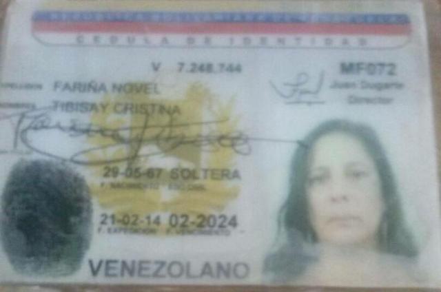Tibisay Cristina Fariña Nobel
