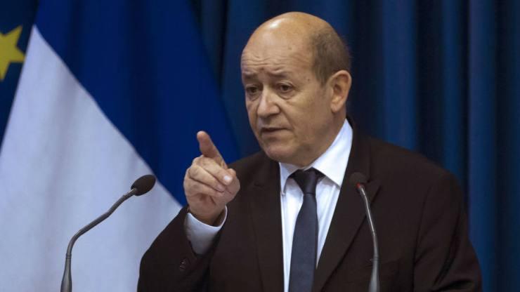 Jean-Yves Le Drian / Ministro de Relaciones Exteriores de Francia