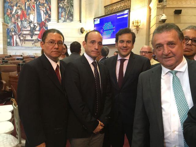 En el Senado Colombiano 1
