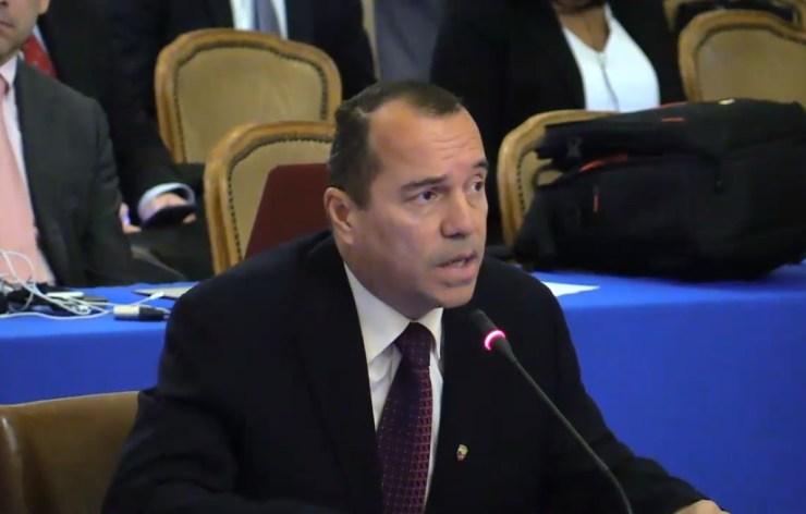Omar Lares, alcalde de Campo Elías en Mérida // Foto captura video