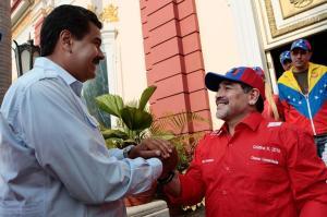 Maradona-Maduro-Foto-Télam