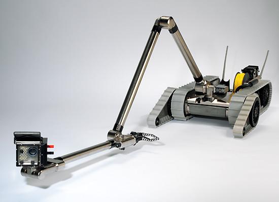 Este es el robot que cuidará del papa en Brasil