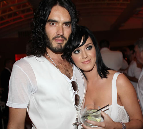 """russell brand y katy perry 1 - El ex de Katy Perry que se sintió """"destrozado"""" al saber de su embarazo y compromiso - #Noticias"""