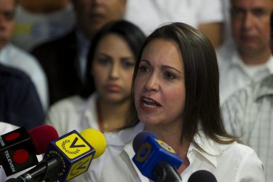 RUEDA DE PRENSA EN SEDE DEL PARTIDO VOLUNTAD POPULAR EN CARACAS