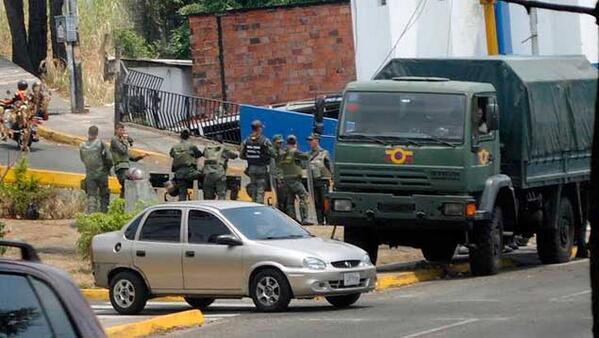 SC militarizada