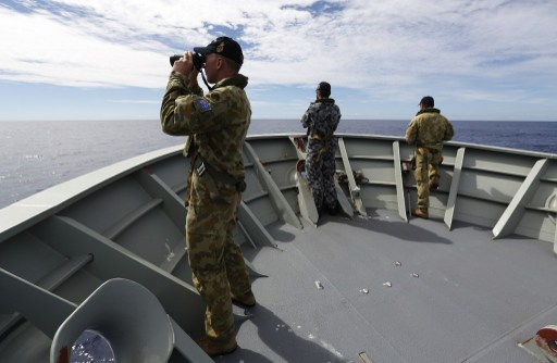 FOTO ABIS NICOLAS GONZALEZ / AUSTRALIAN DEFENCE / AFP