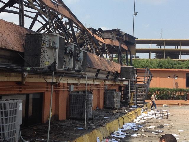 Universidad Fermín Toro en Barquisimeto el 06 de mayo de 2014 / Foto Alfredo Alvarez
