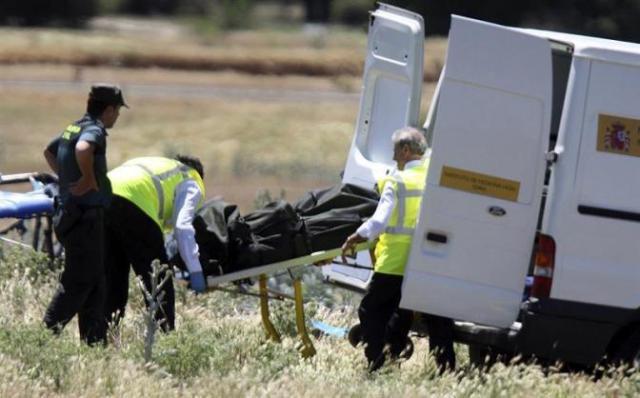 Muerto Avioneta