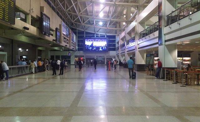 El terminal de llegada de los vuelos internacionales del Aeropuerto de Maiquetía  / Foto archivo