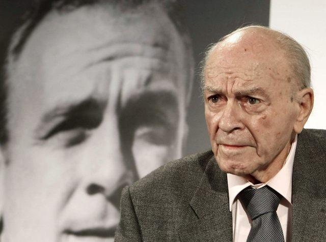 Foto EFE/Alfredo Di Stéfano, futbolista (4 de julio de 1926 – 7 de julio de 2014). Uno de los mejores futbolistas de su tiempo, el delantero español-argentino murió de un ataque al corazón con 88 años.
