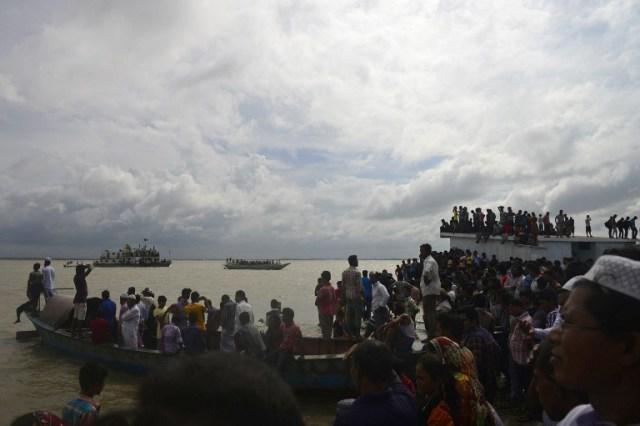 BANGLADESH-BOAT-ACCIDENT