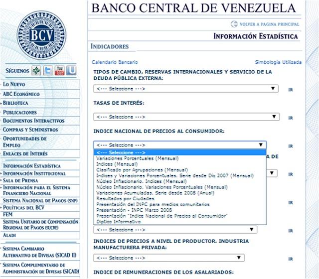 BCV Pagina WEB