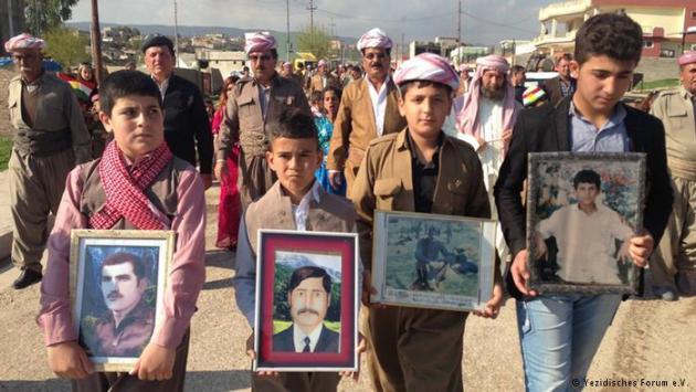 fueral yazidies