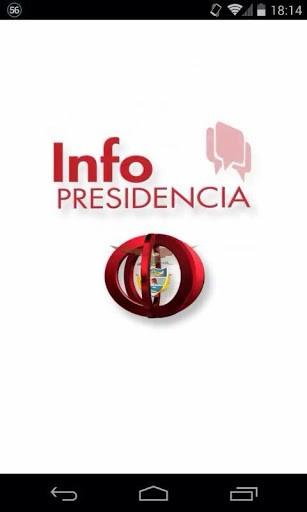 infopresidencia aplicación