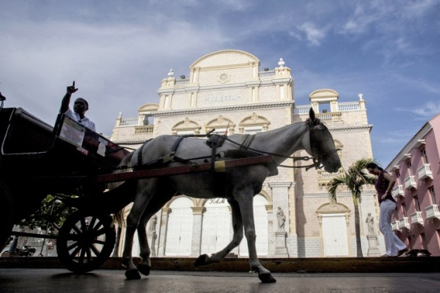 COLOMBIA-CARTAGENA-TOURISM-HORSE