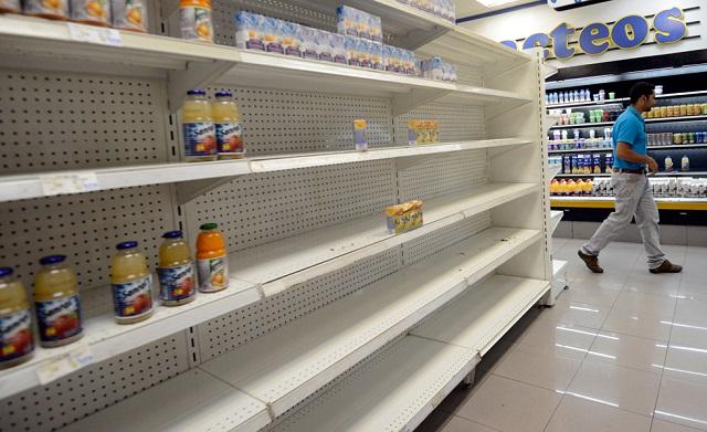 Venezuela supera por mucho los índices de escasez de las economías mundiales.  Las autoridades retrasan consistentemente la publicación de sus valores / Foto archivo