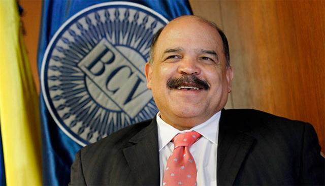 Neñson Merentes, presidente del Banco Central de Venezuela / Foto atchivo