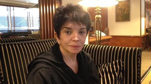 Eleonora Bruzual, durante su entrevista con ABC