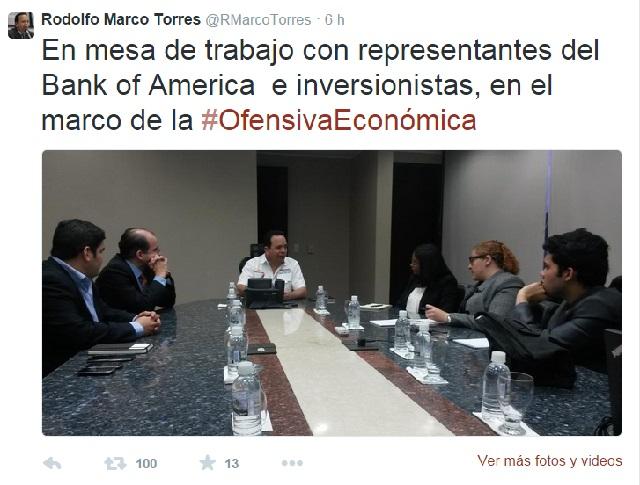 Marco Torres Inver tuit