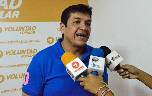 Foto: coordinador municipal de Voluntad Popular, Jesús Gutiérrez.