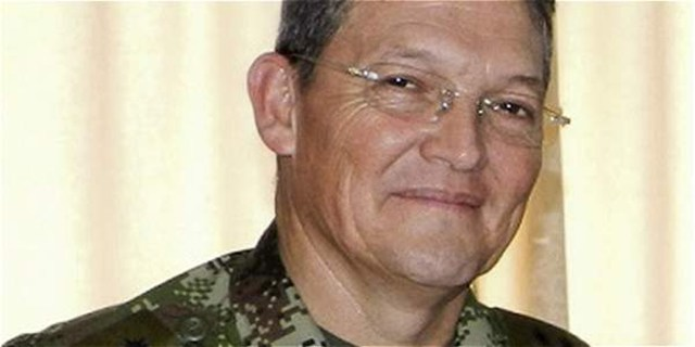El general Rubén Darío Alzate (Foto Reuters)