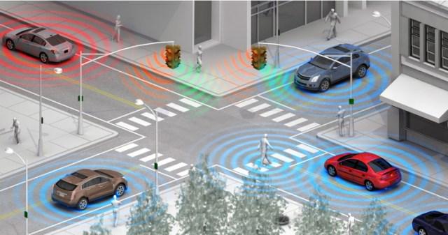 Foto: Comunicacion entre carros / hipertextual.com