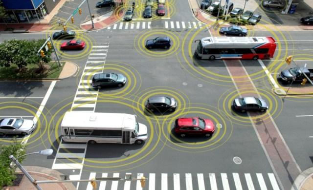Foto:Comunicacion entre carros / hipertextual.com