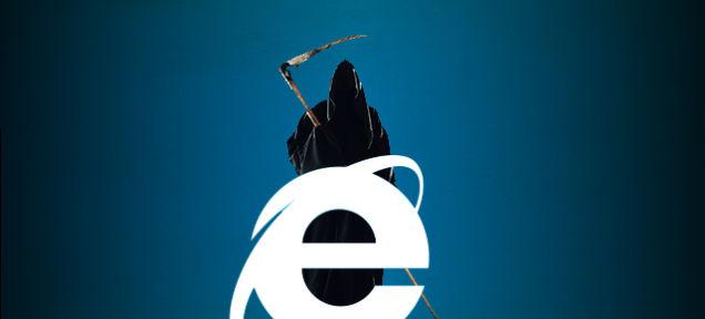 Foto: Internet Explorer / gizmodo.com