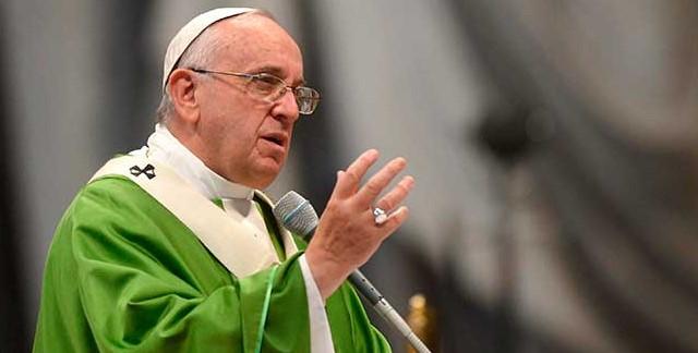 Papa Francisco Misa de Gallo