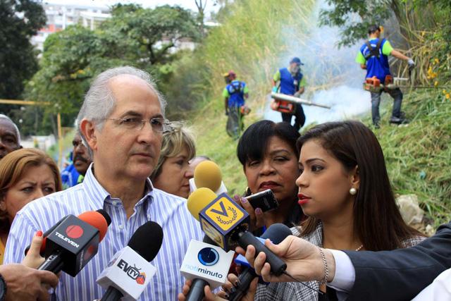 Foto Prensa Alcaldía Metropolitana