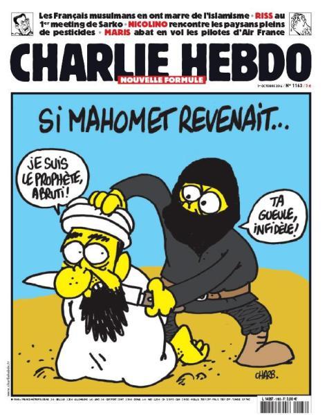Caricatura sobre Mahoma