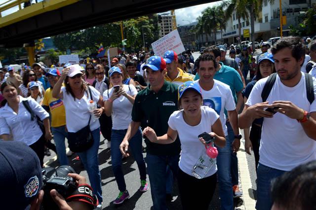 Henrique Capriles-marcha24Enero (4)