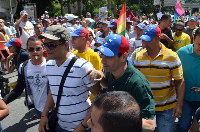 Henrique Capriles-marcha24Enero (6)