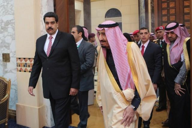Maduro-ArabiaSaudita