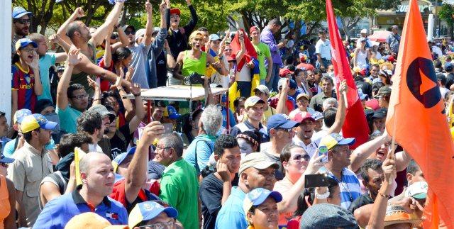 Foto: La Marcha de las Ollas Vacías en el Zulia. / Nota de prensa