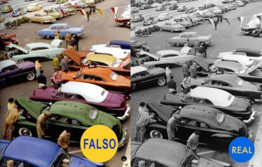 show de coches 1954
